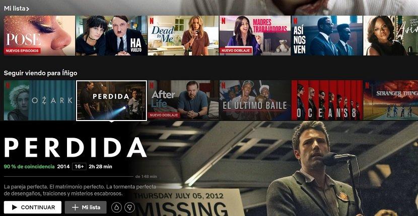 Cómo eliminar en Netflix cualquier título de la lista Seguir viendo