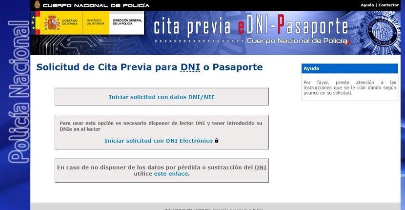 Cómo pedir cita previa renovación pasaporte