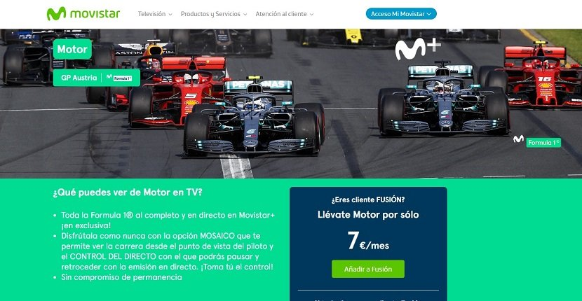 Canal Motor Movistar