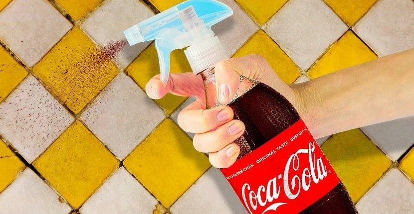 Limpiar con Coca Cola