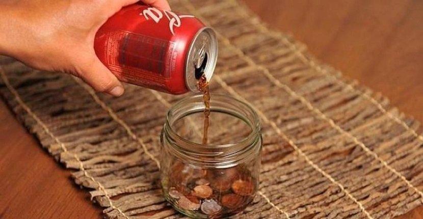 Quitar óxido con Coca Cola