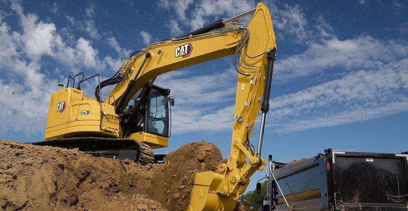 Imagen de una excavadora