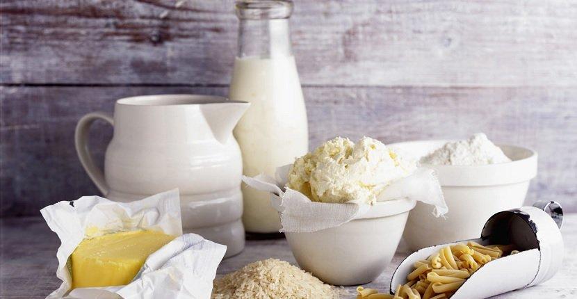Productos lácteos para rebajar el picante