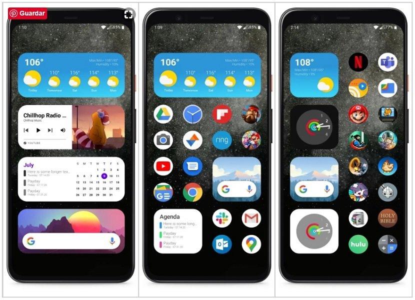 iOS 14 en Android