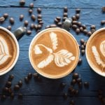 Cómo dibujar sobre el café