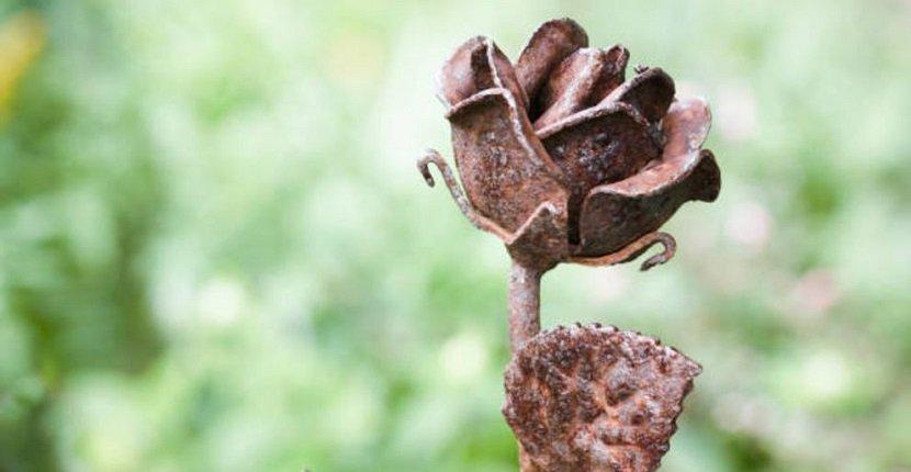 Flores artificiales endurecidas