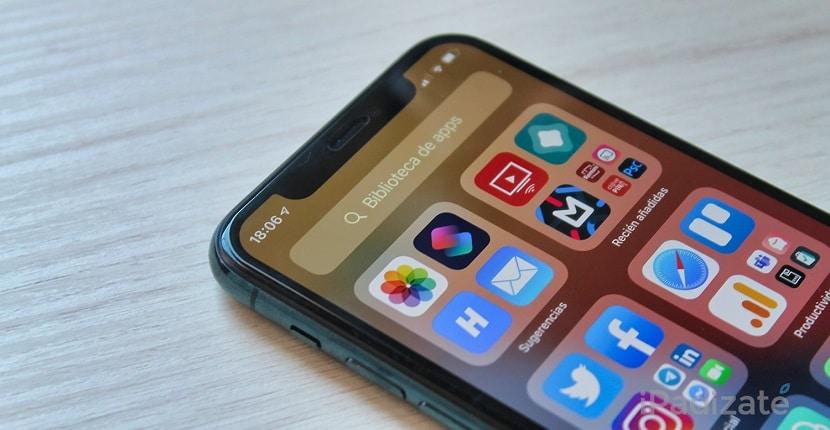 Aplicaciones iOS 14