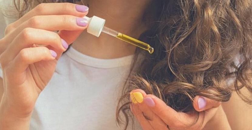 Aceite de ricino en el pelo