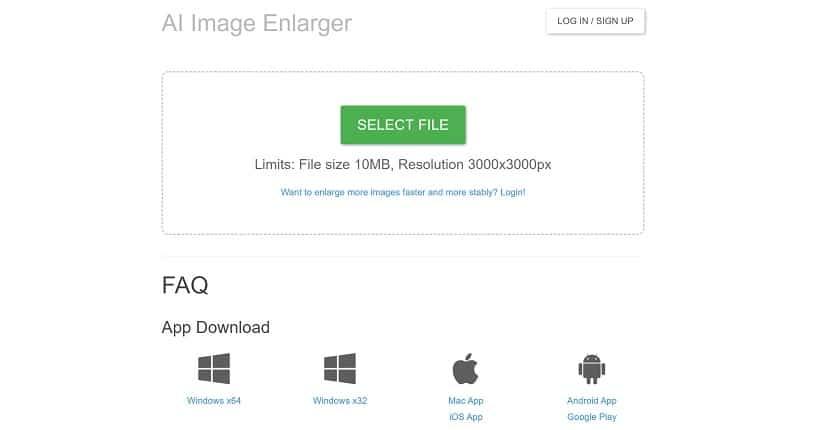 Bigjpg - Al Image Enlarger