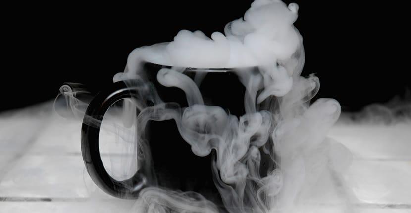 Fabricar humo con hielo seco