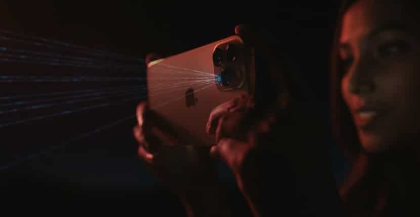LIDAR iPhone 12