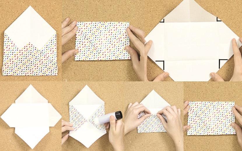 Cómo hacer un sobre con un folio
