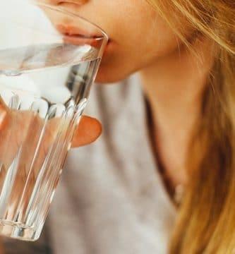 Agua baja en sodio