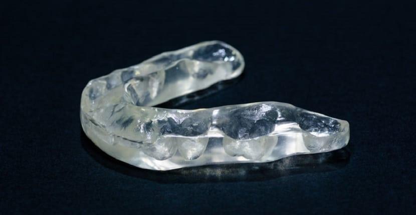 Férula de descarga dental